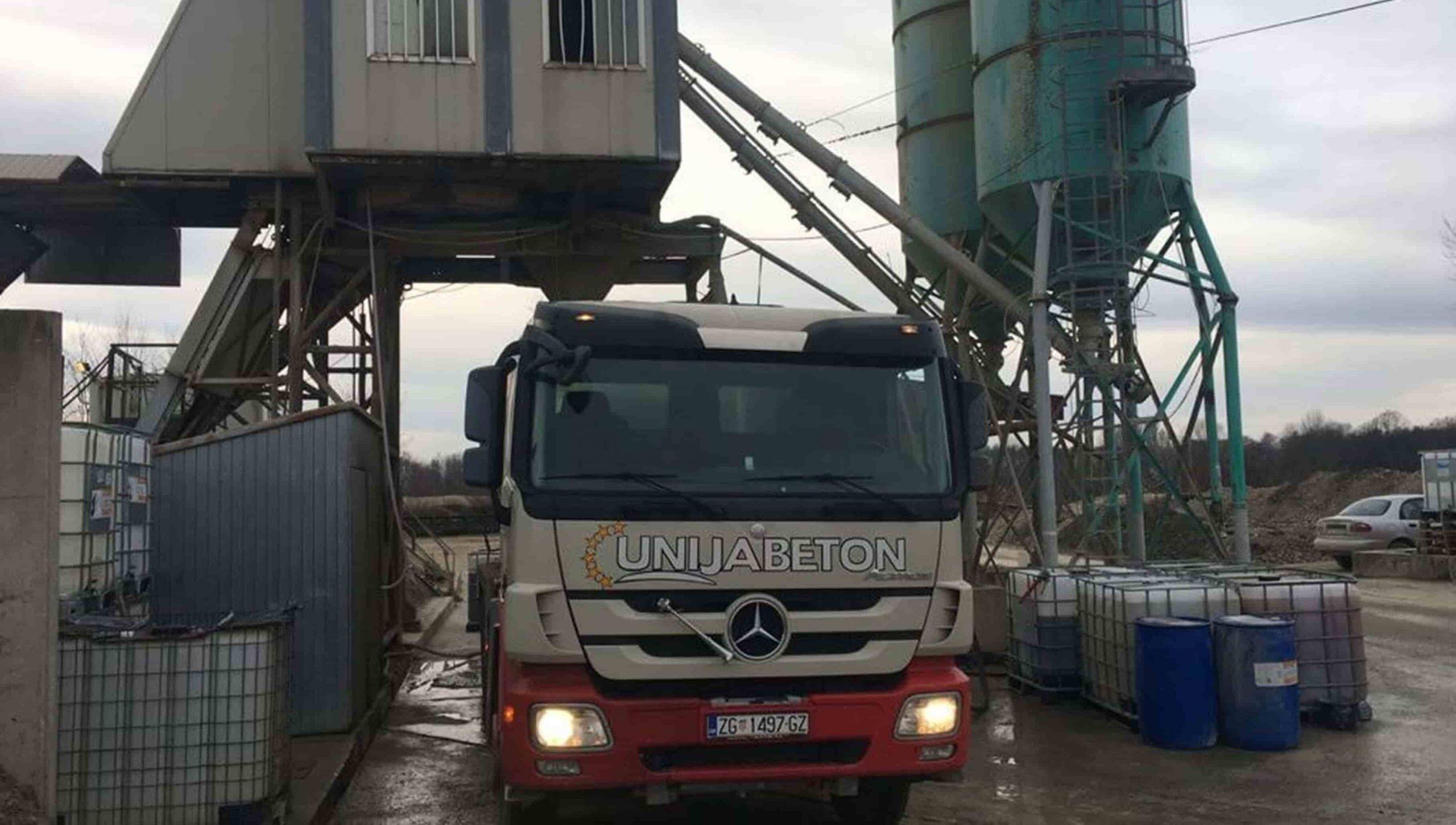 Oru plant – production capacity 55 m3/h