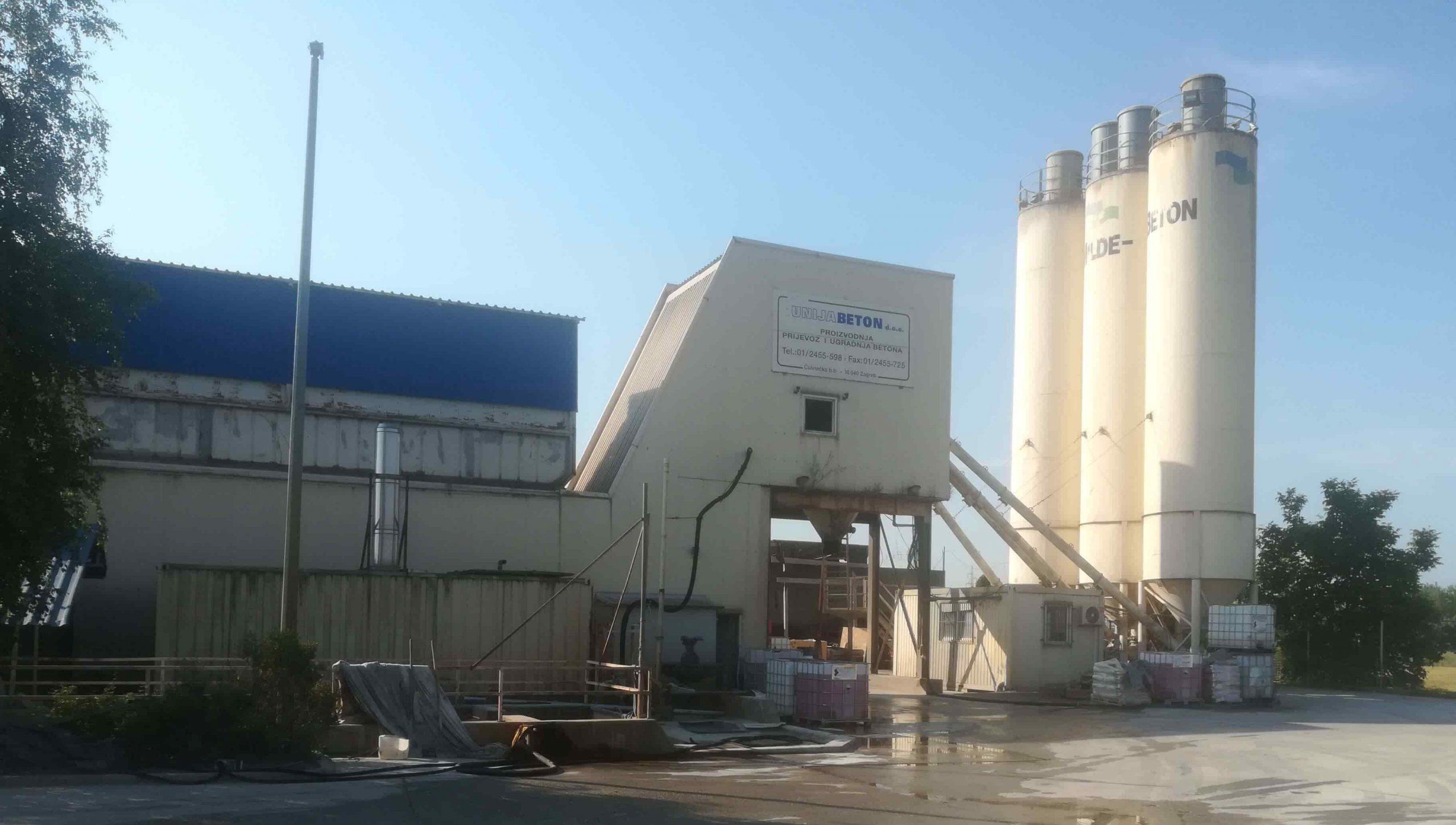 Wiggert plant – production capacity 80 m3/h