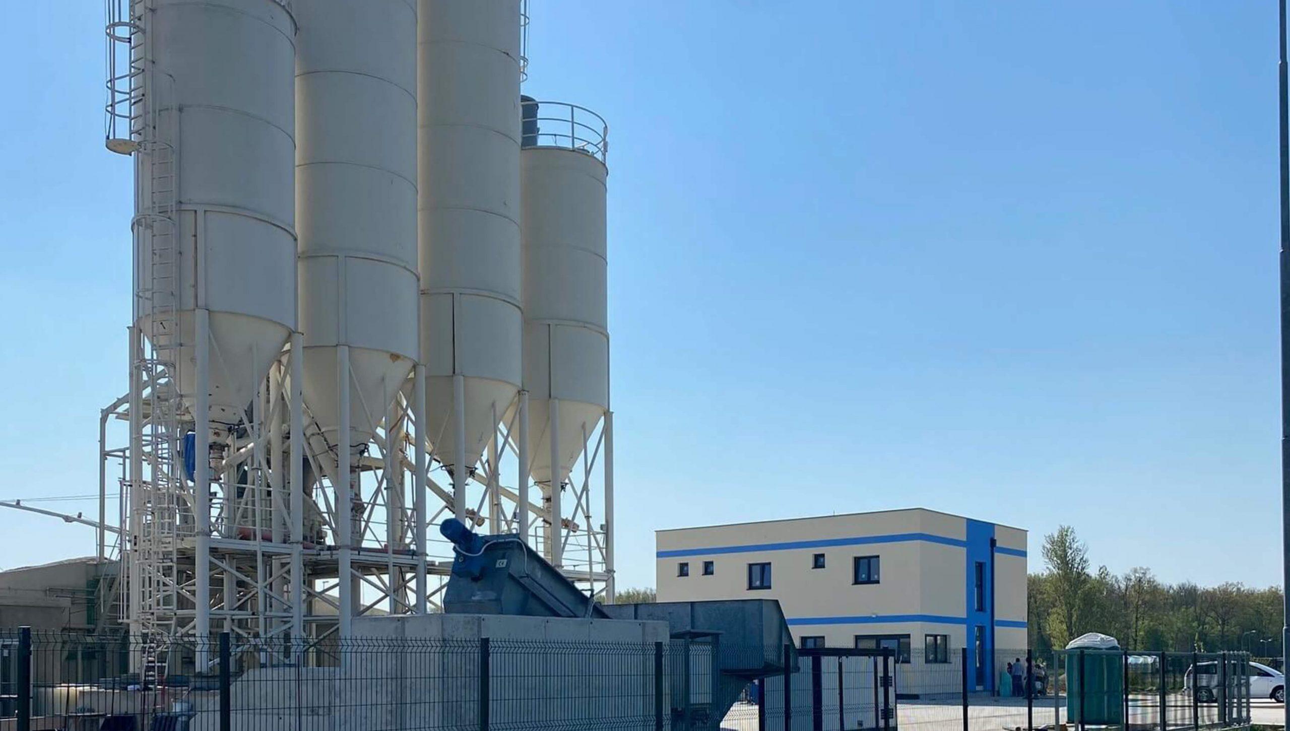 Teka plant – production capacity 50 m3/h