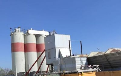 Purchased new concrete plant