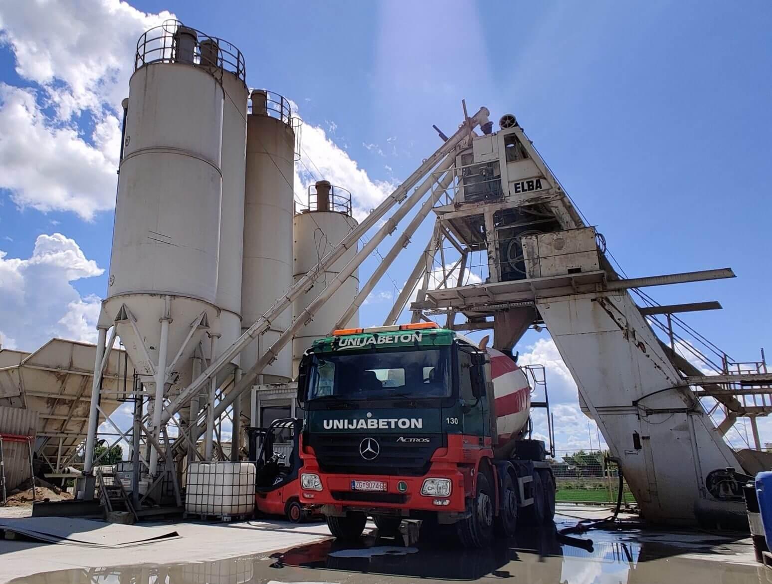 Elba plant – production capacity 90 m3/h