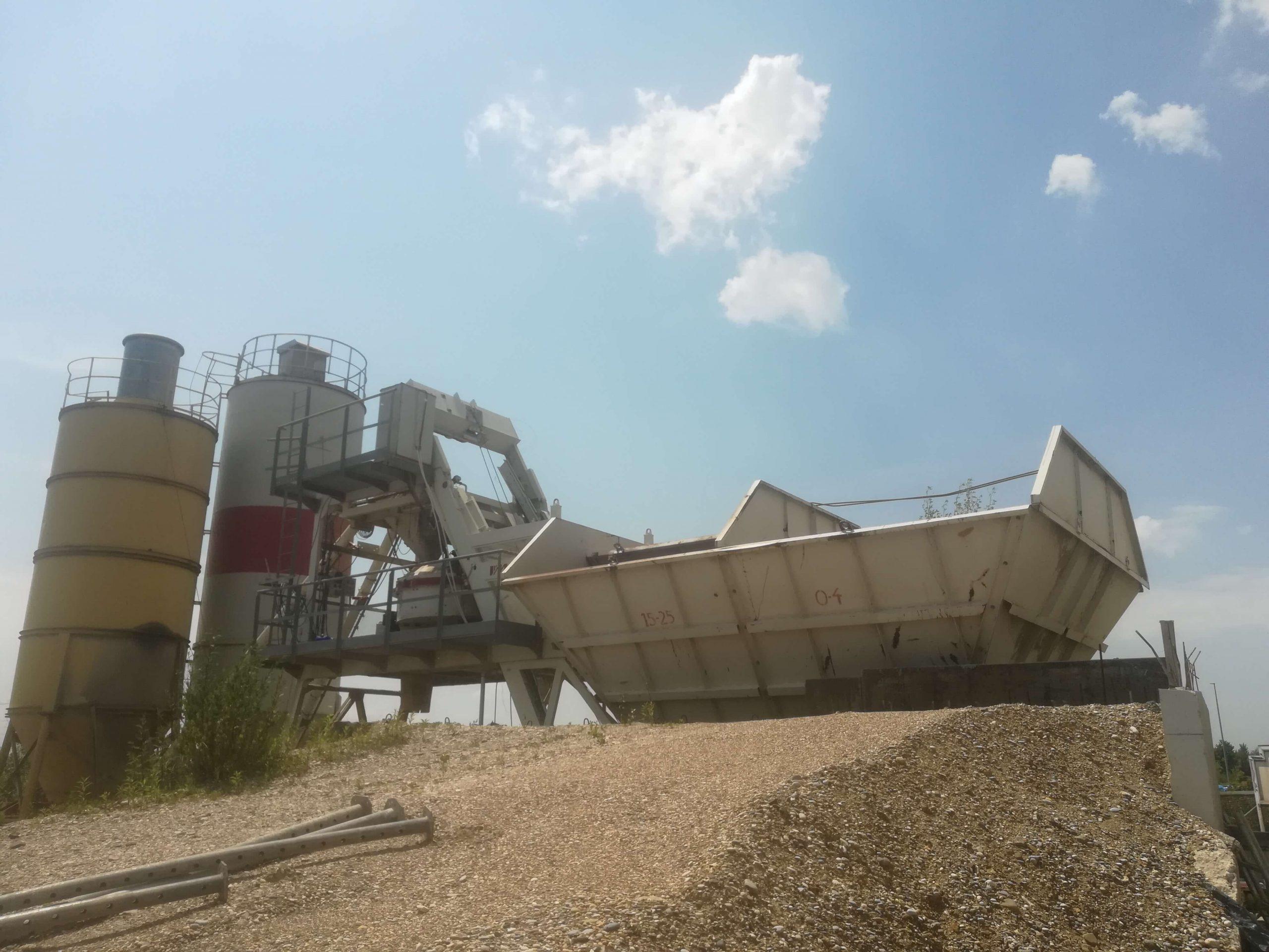 Merko plant – production capacity 40 m3/h
